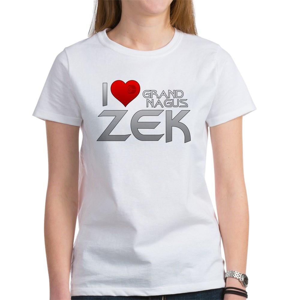 I Heart Grand Nagus Zek Women's T-Shirt