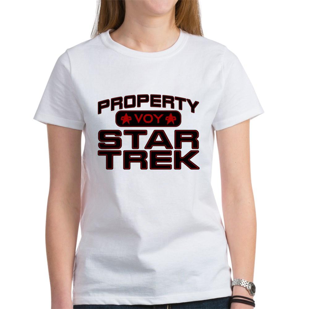 Red Property Star Trek - VOY Women's T-Shirt