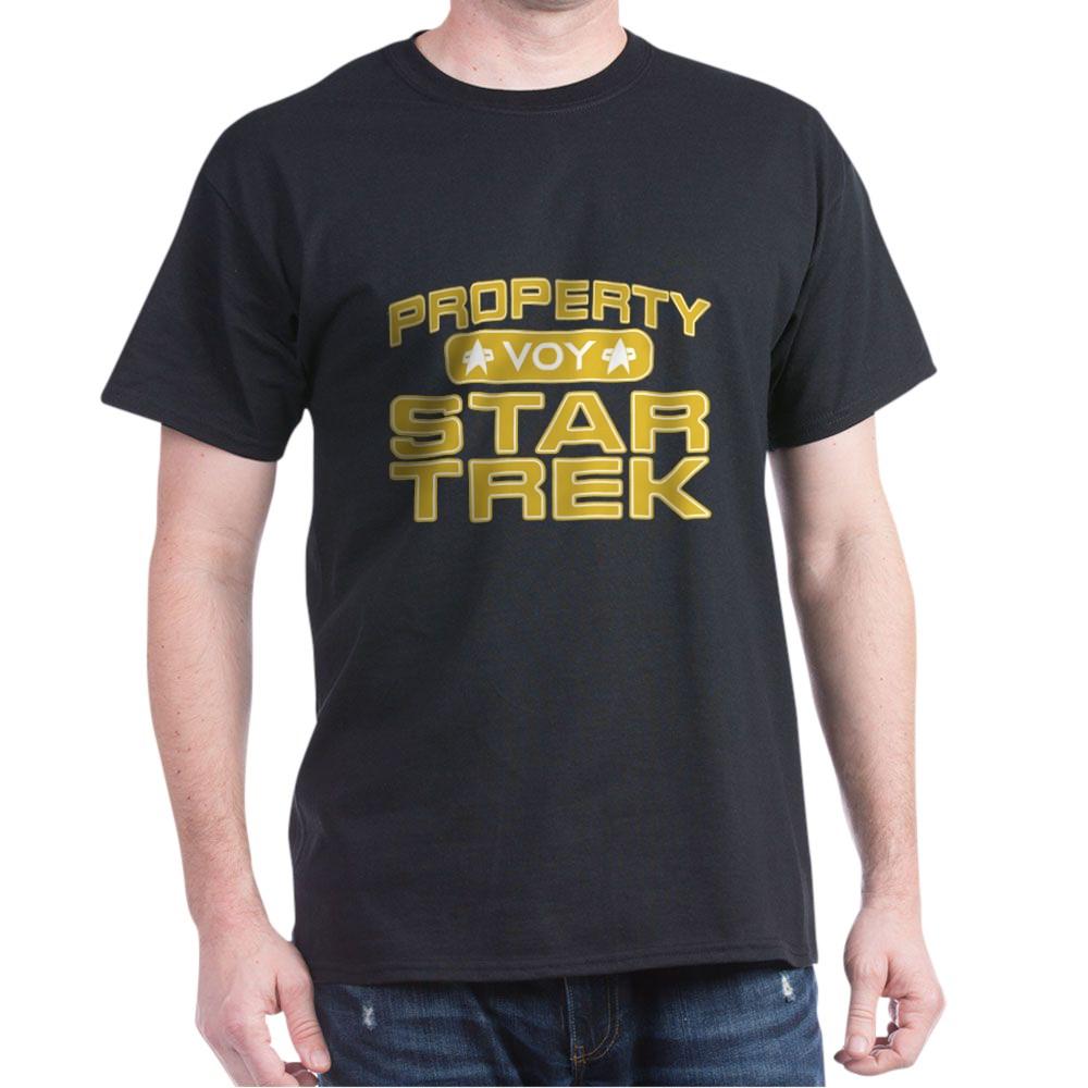 Gold Property Star Trek - VOY Dark T-Shirt