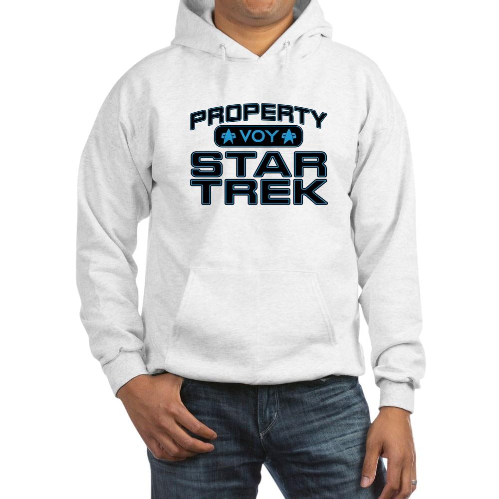 Blue Property Star Trek - VOY Hooded Sweatshirt