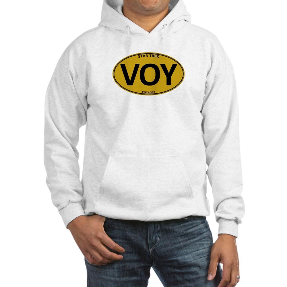 Star Trek: VOY Gold Oval Hooded Sweatshirt
