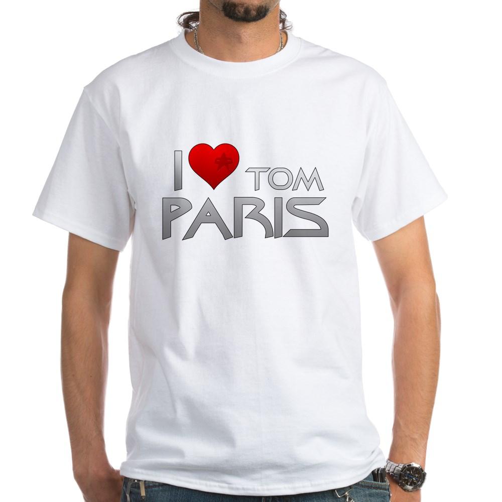 I Heart Tom Paris White T-Shirt