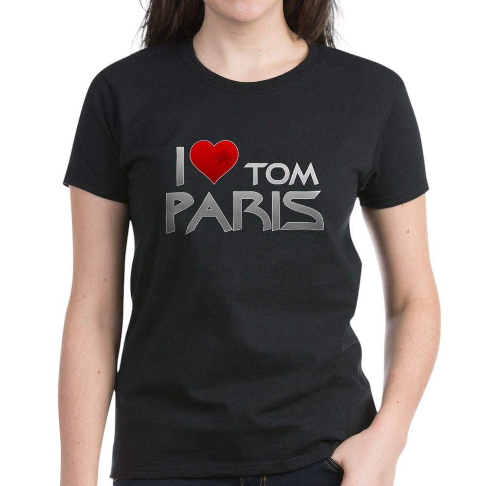 I Heart Tom Paris Women's Dark T-Shirt
