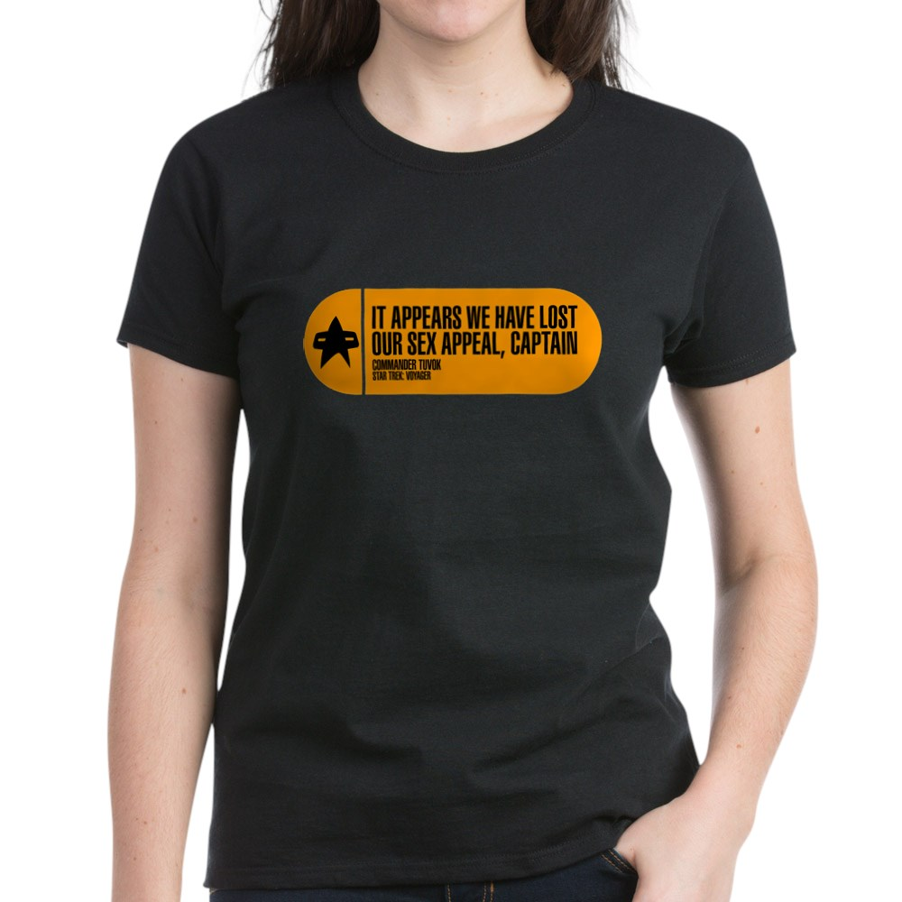 It Appears We Have Lost Our Sex Appeal - Star Trek Women's Dark T-Shirt