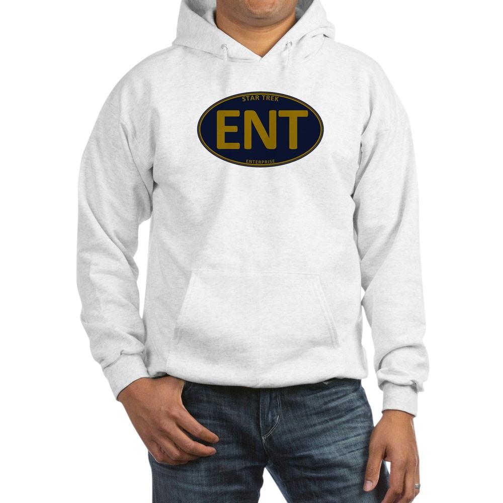 Star Trek: ENT Gold Oval Hooded Sweatshirt