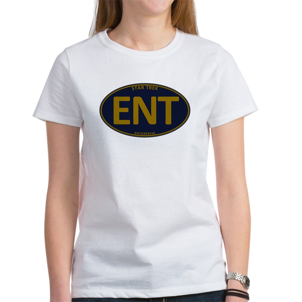 Star Trek: ENT Gold Oval Women's T-Shirt