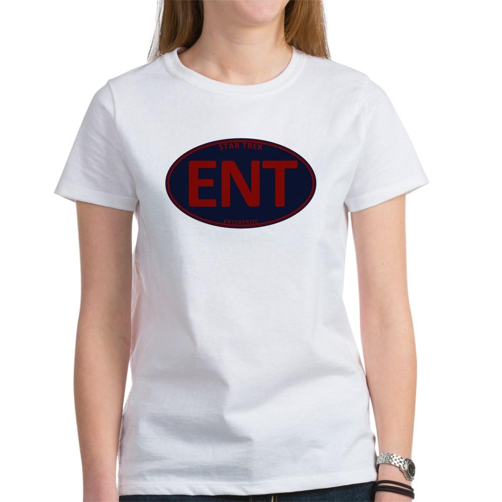 Star Trek: ENT Red Oval Women's T-Shirt