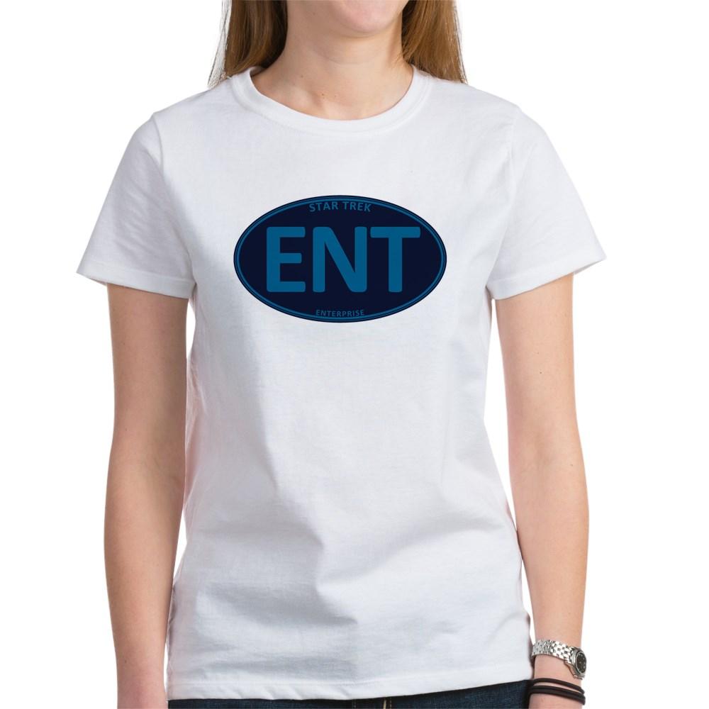 Star Trek: ENT Blue Oval Women's T-Shirt