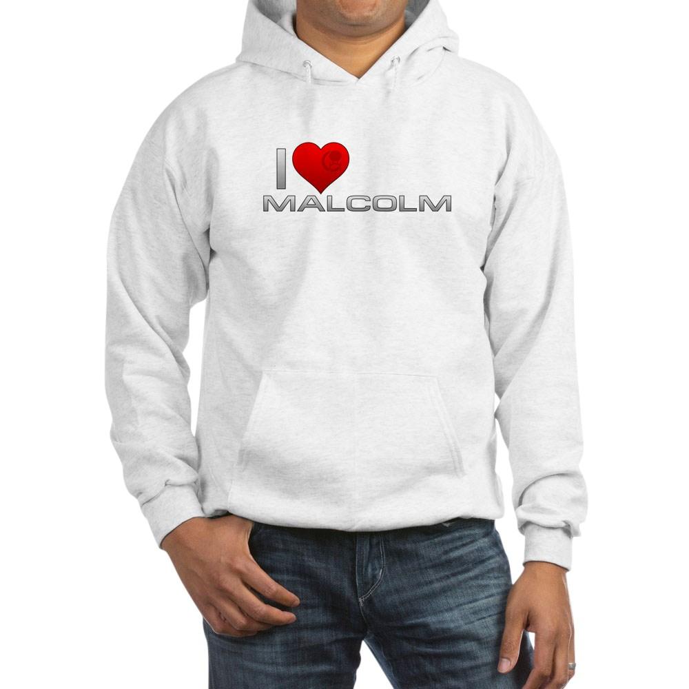 I Heart Malcolm Hooded Sweatshirt