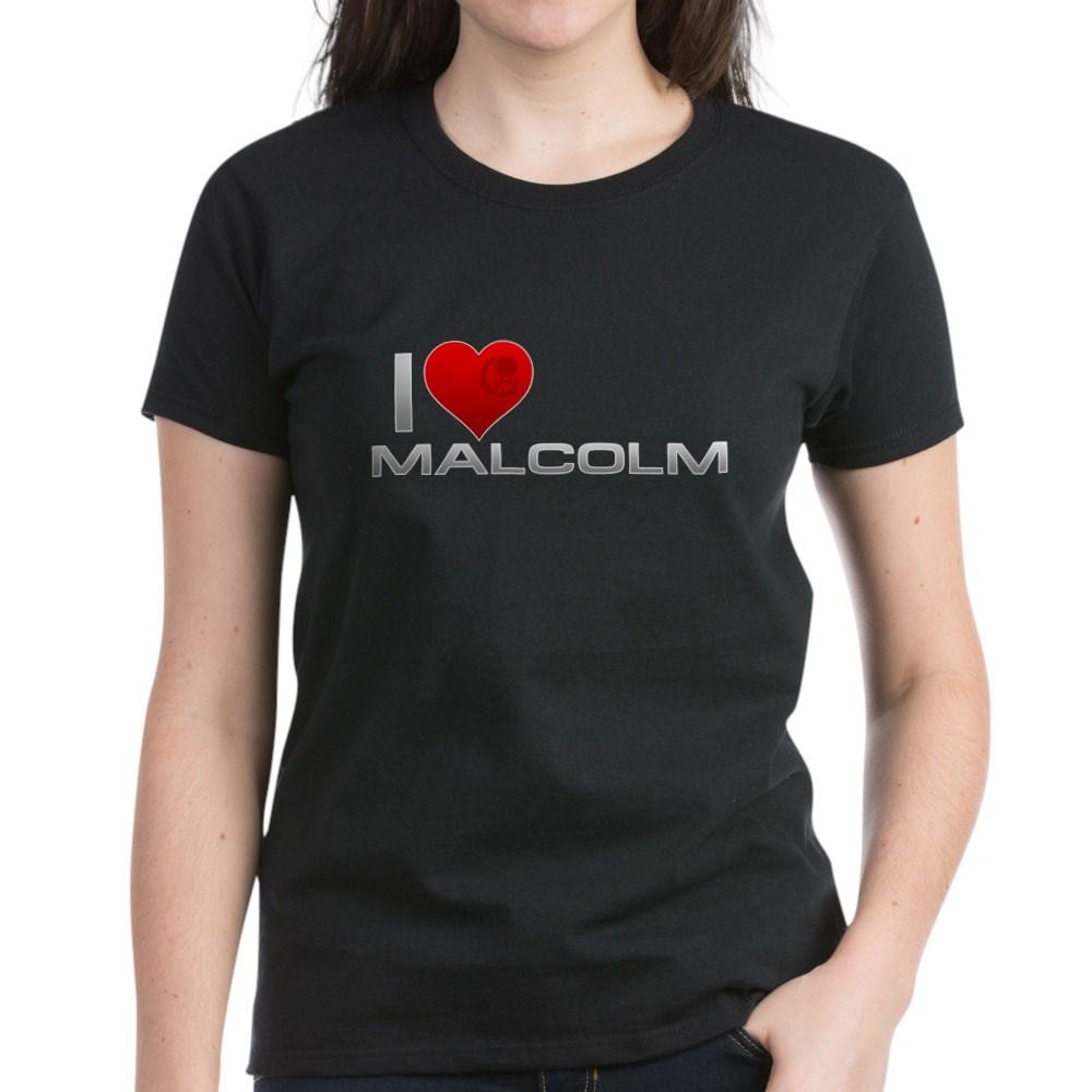 I Heart Malcolm Women's Dark T-Shirt