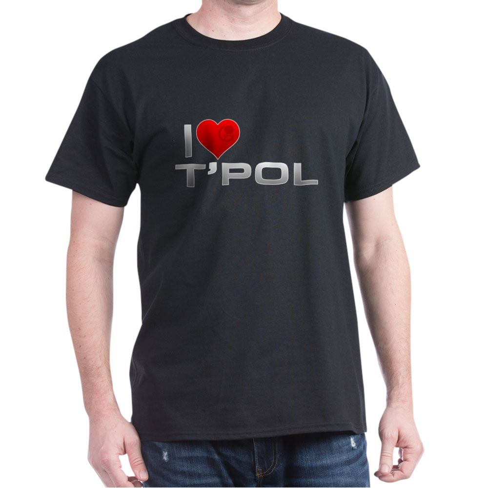 I Heart T'Pol Dark T-Shirt