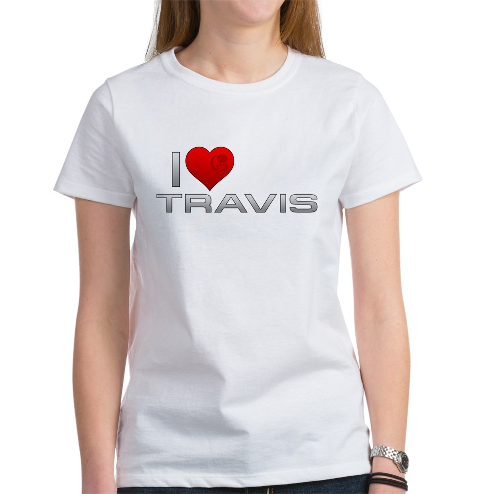 I Heart Travis Women's T-Shirt
