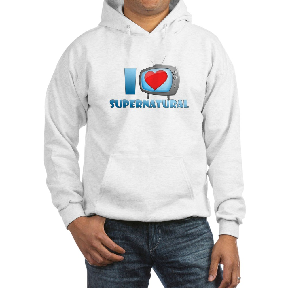 I Heart Supernatural Hooded Sweatshirt