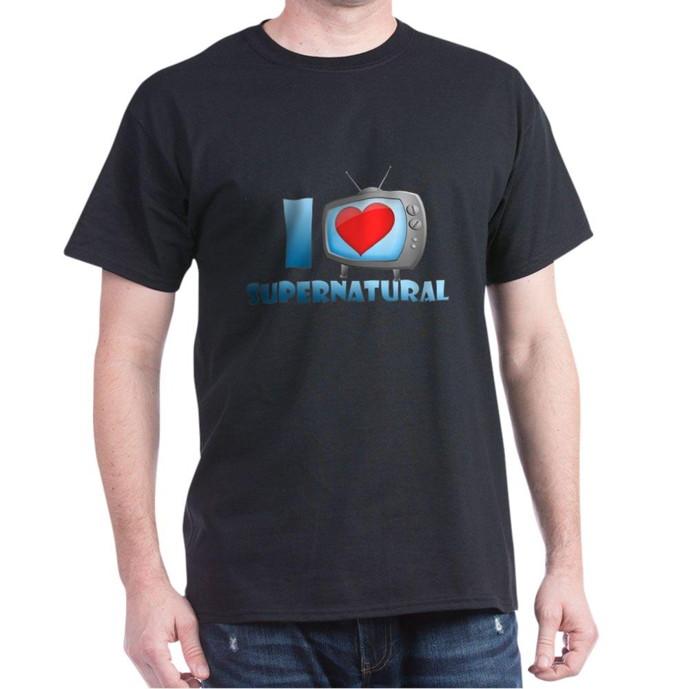 I Heart Supernatural Dark T-Shirt