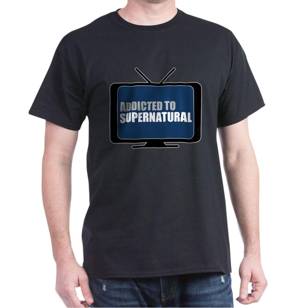 Addicted to Supernatural Dark T-Shirt