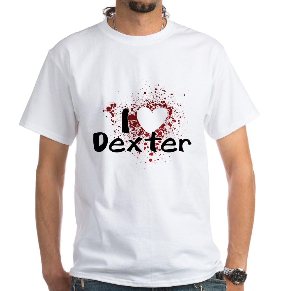 I Heart Dexter White T-Shirt