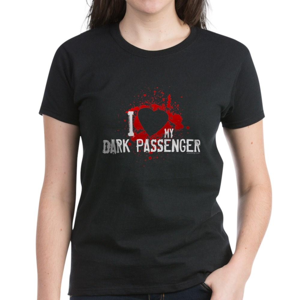 I Heart My Dark Passenger Women's Dark T-Shirt