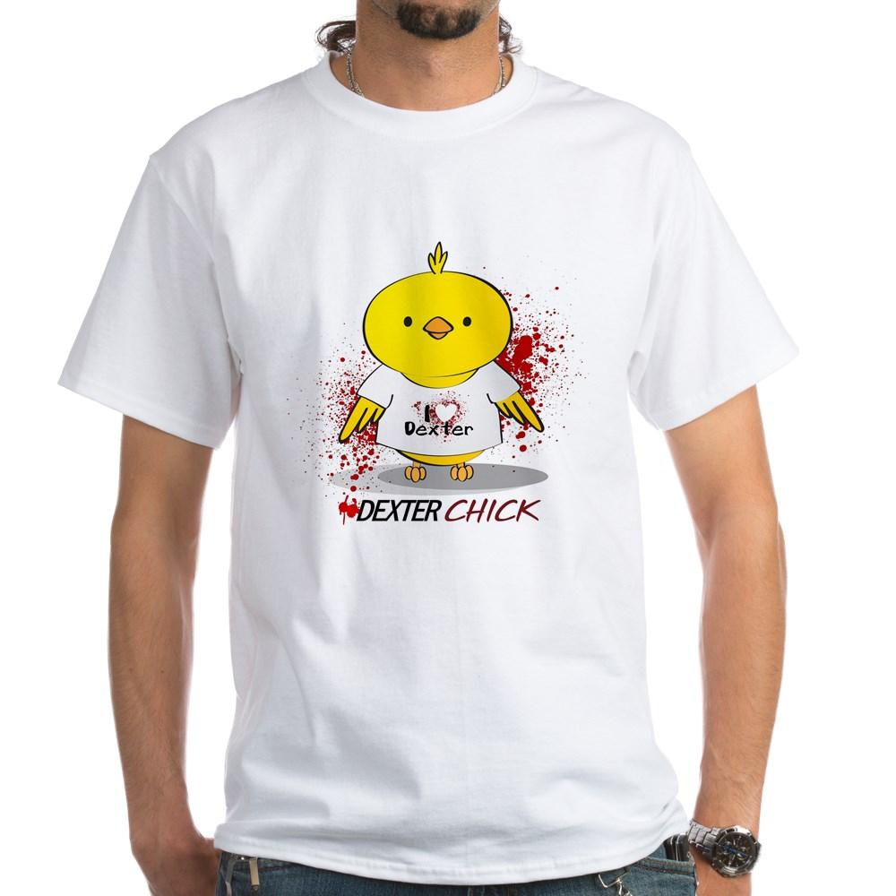 Dexter Chick White T-Shirt