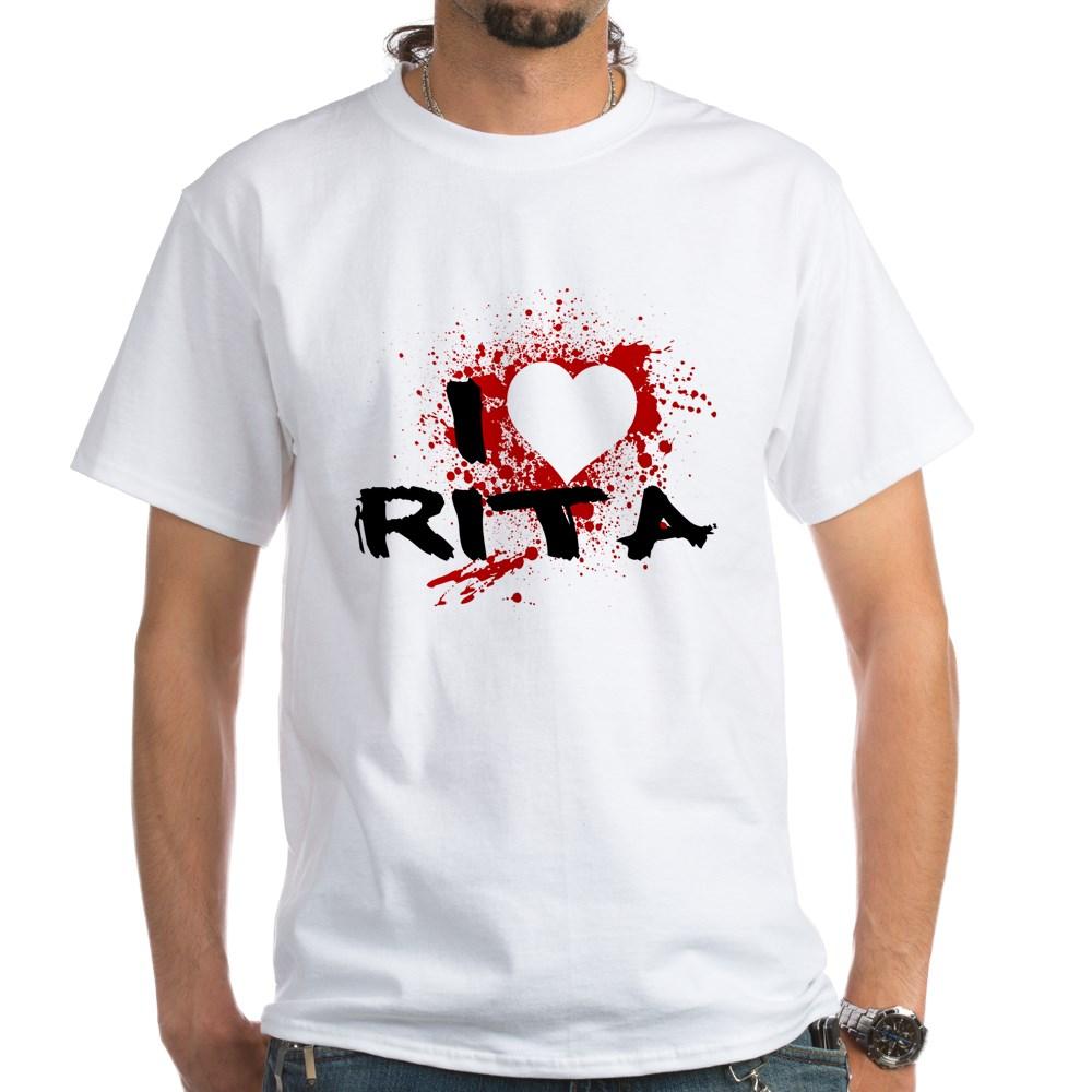 I Heart Rita - Dexter White T-Shirt