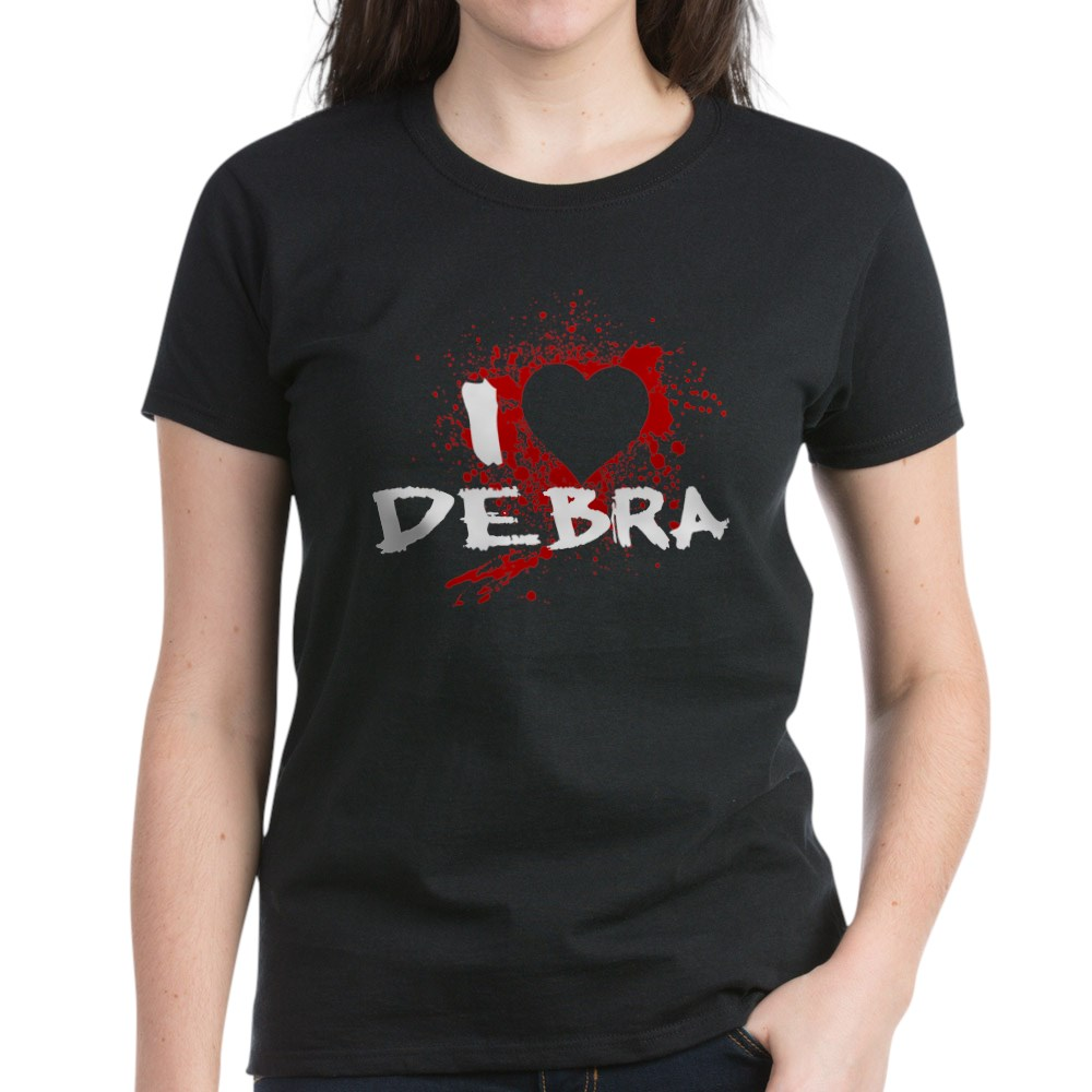 I Heart Debra - Dexter Women's Dark T-Shirt