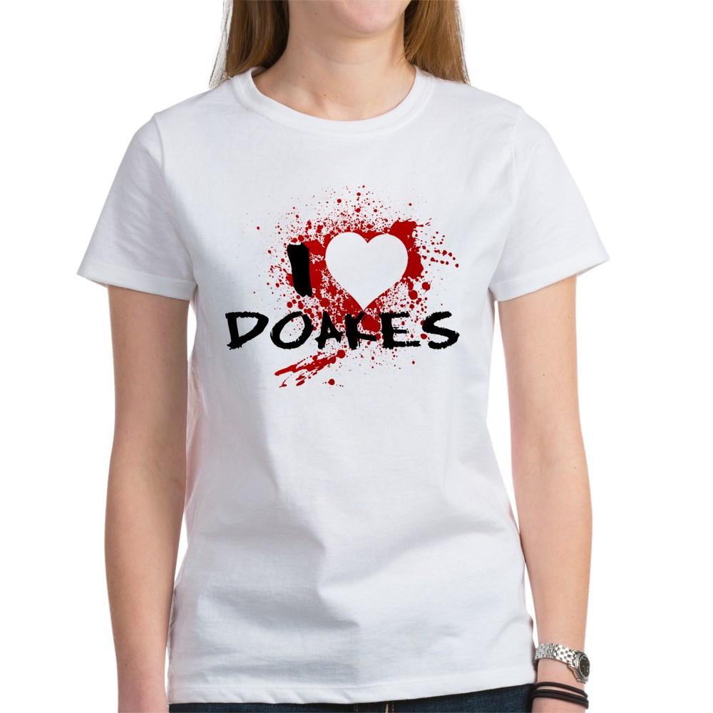 I Heart Doakes - Dexter Women's T-Shirt