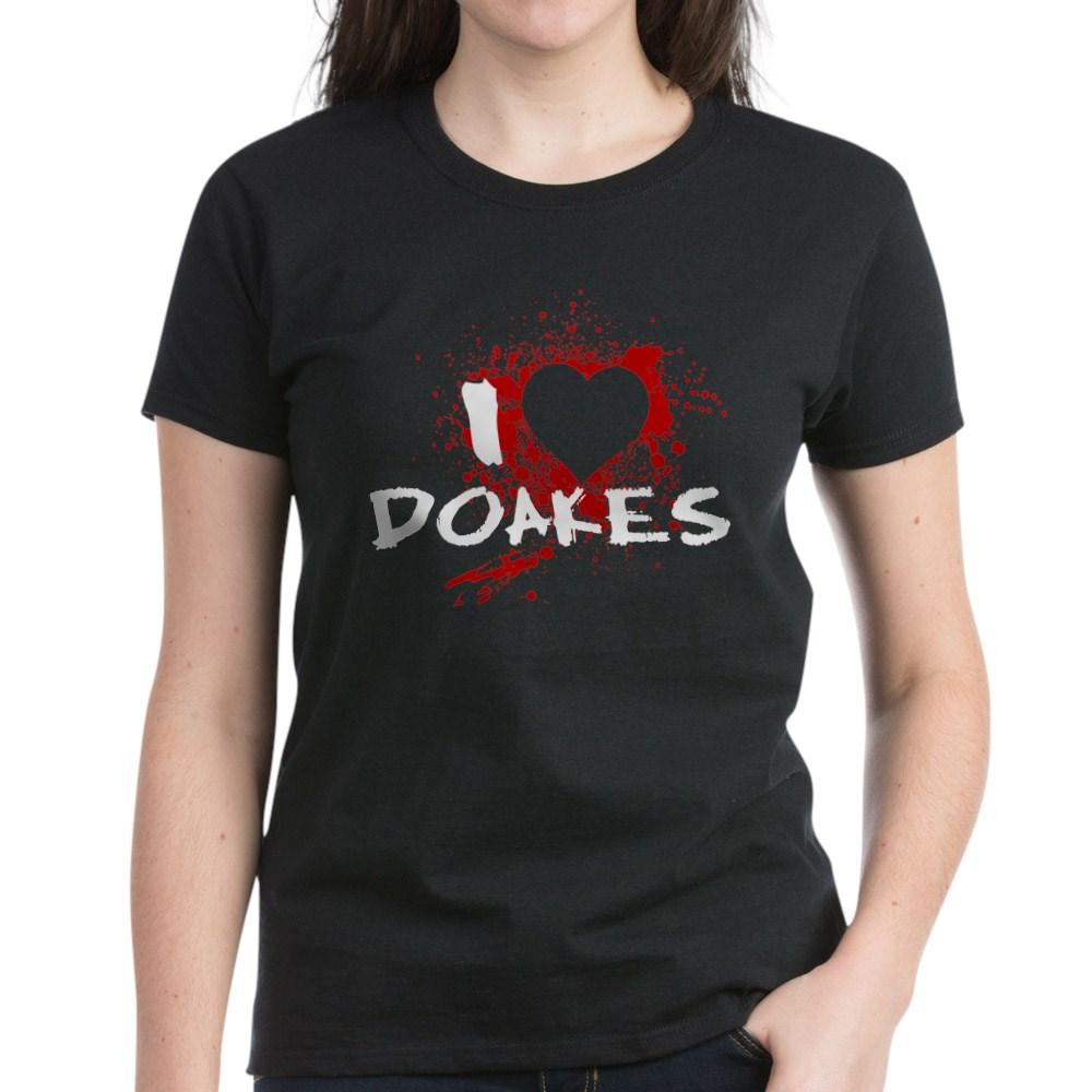 I Heart Doakes - Dexter Women's Dark T-Shirt
