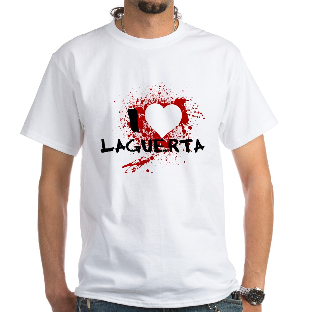 I Heart LaGuerta - Dexter White T-Shirt