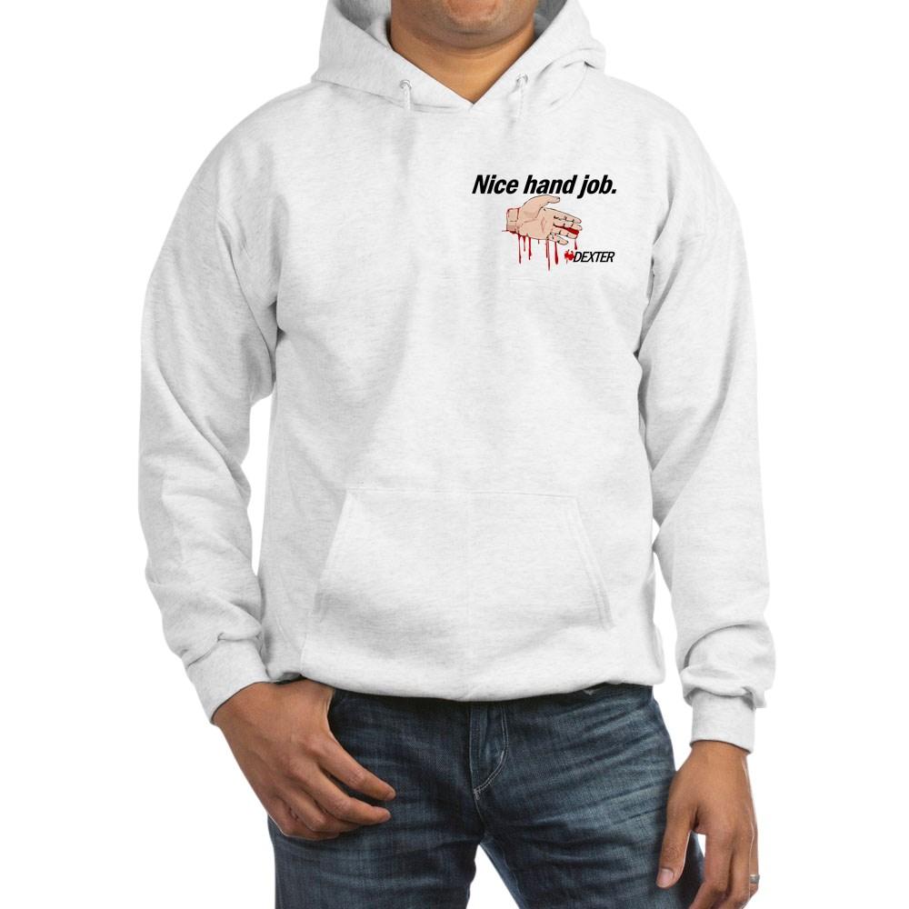 Nice Hand Job - Dexter - Bloody Hand Hooded Sweatshirt