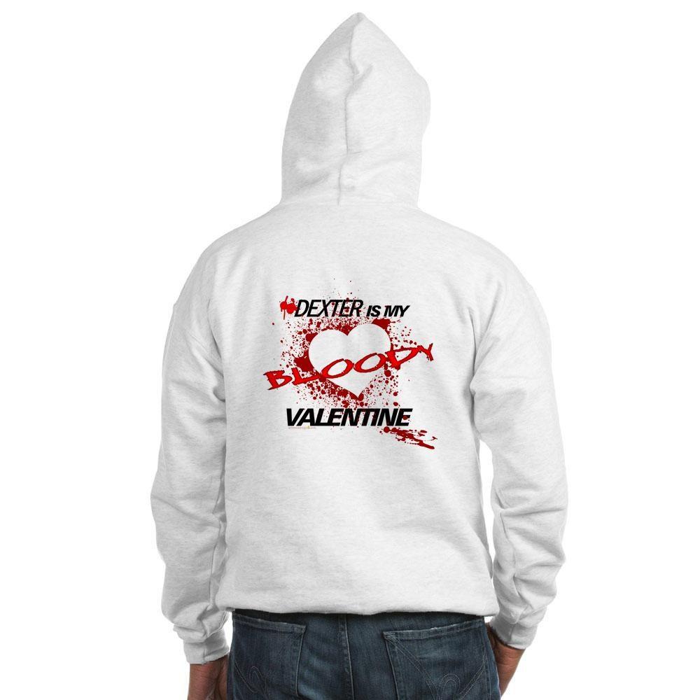 Dexter Is My Bloody Valentine Hooded Sweatshirt