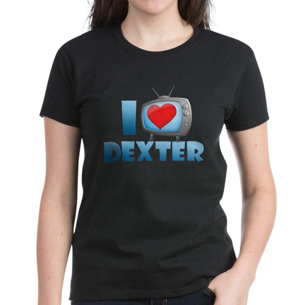I Heart Dexter Women's Dark T-Shirt