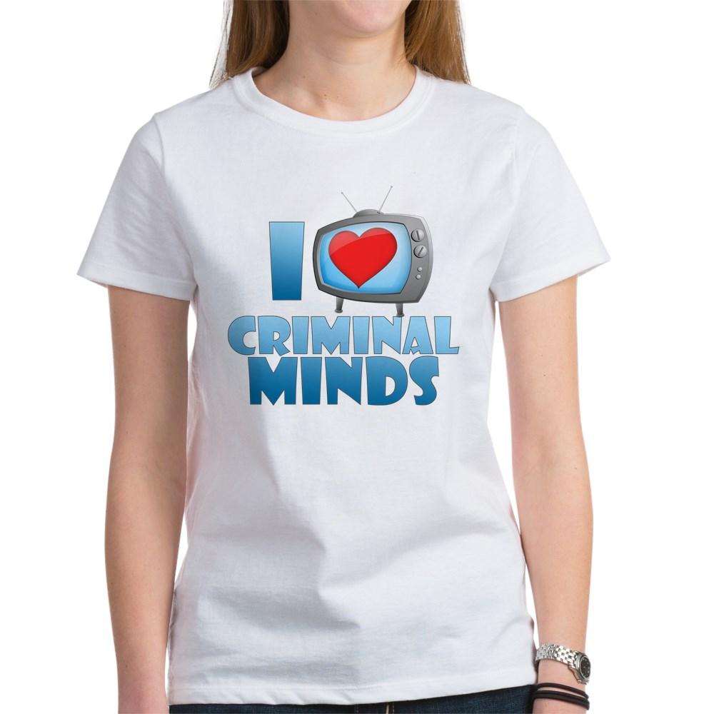 I Heart Criminal Minds Women's T-Shirt