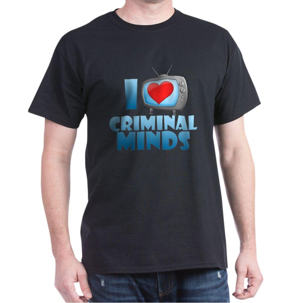I Heart Criminal Minds Dark T-Shirt