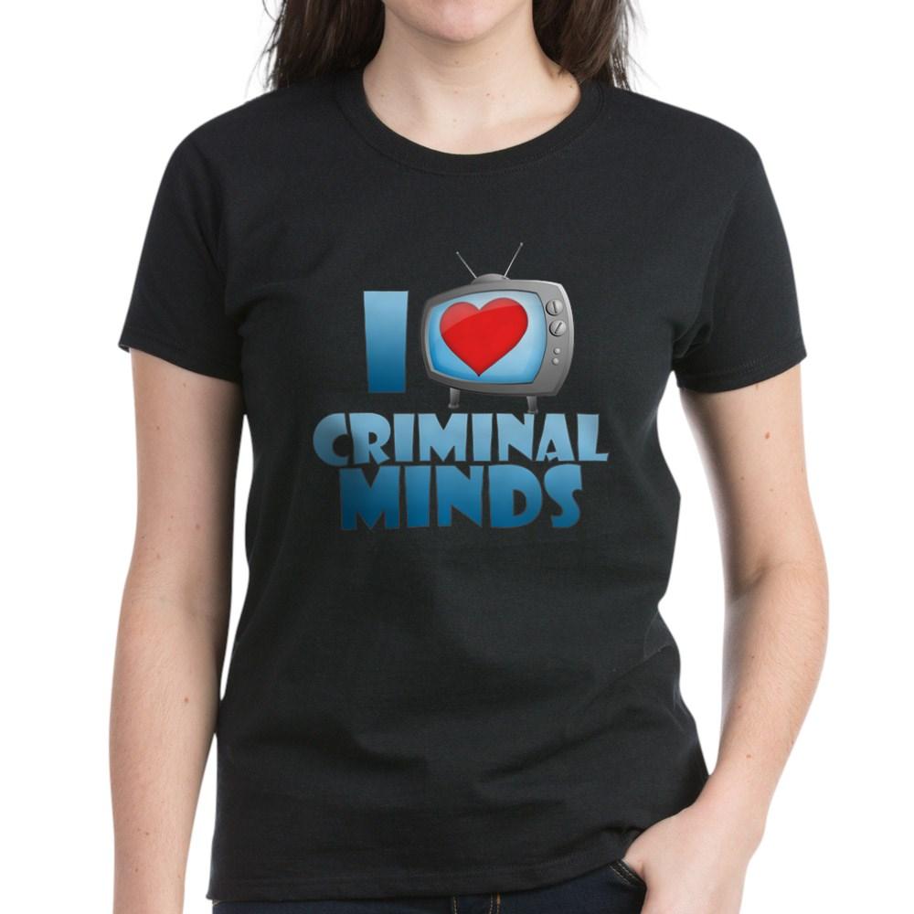 I Heart Criminal Minds Women's Dark T-Shirt