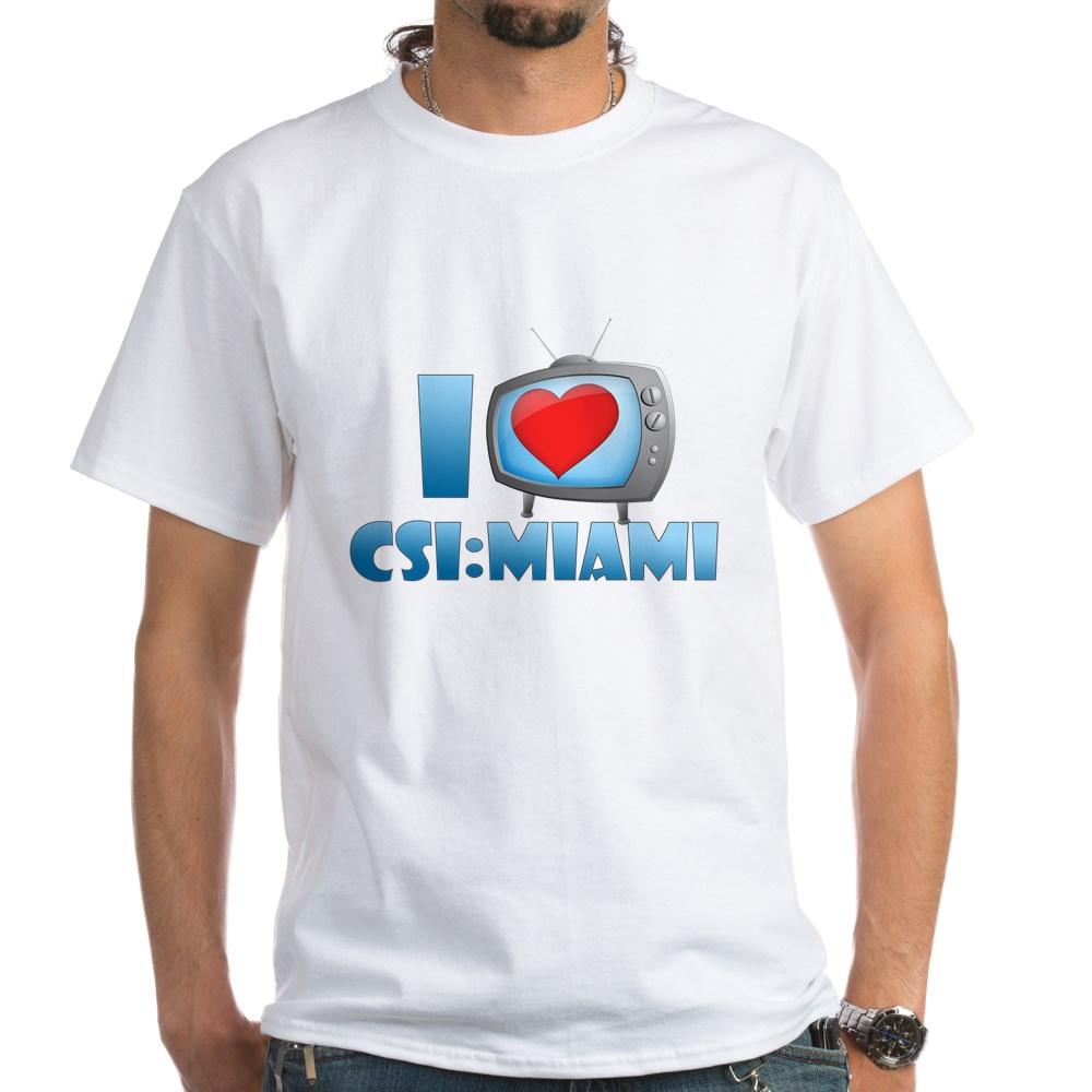 I Heart CSI: Miami White T-Shirt