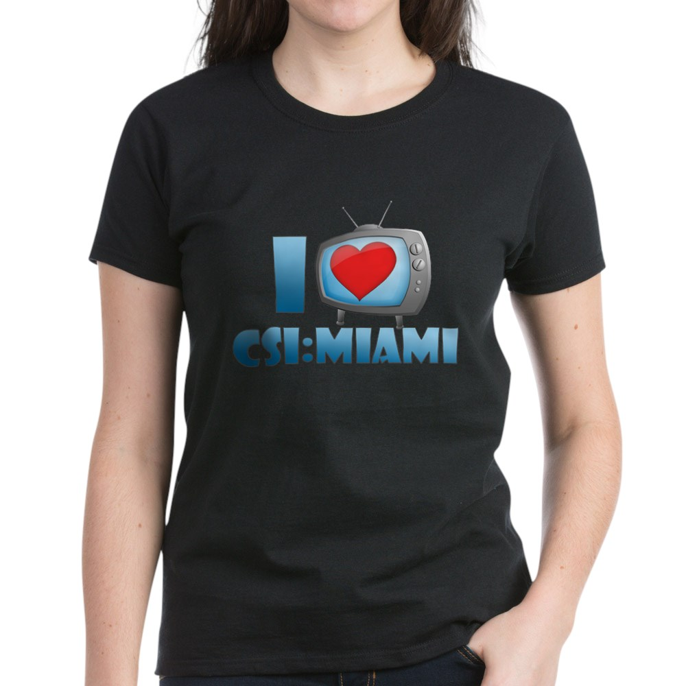I Heart CSI: Miami Women's Dark T-Shirt