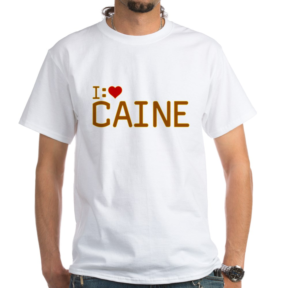 I Heart Caine White T-Shirt