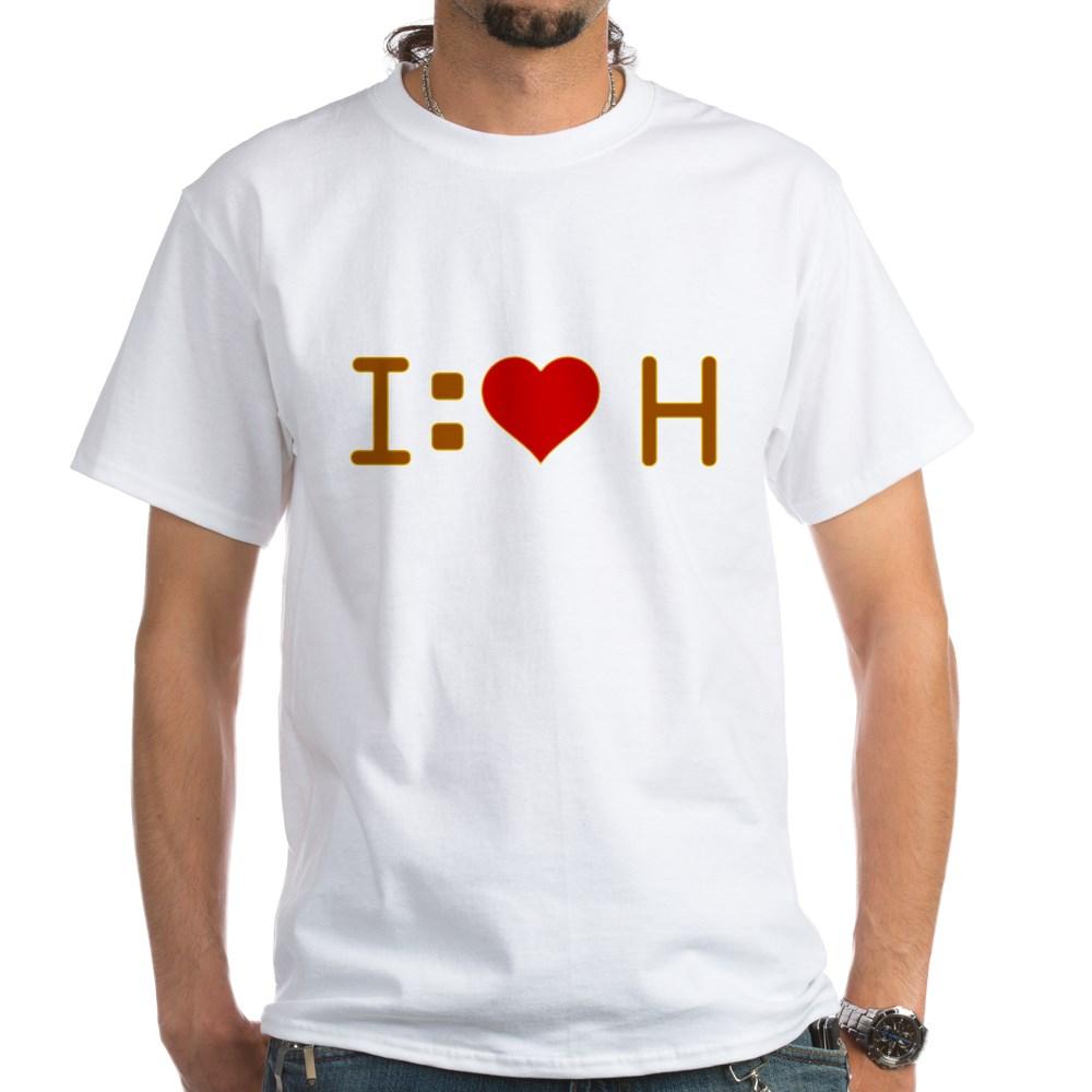 I Heart H White T-Shirt