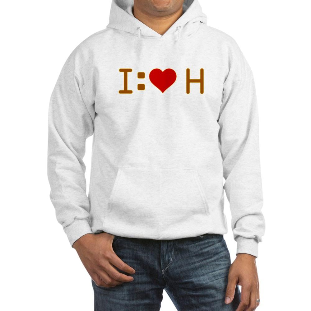 I Heart H Hooded Sweatshirt