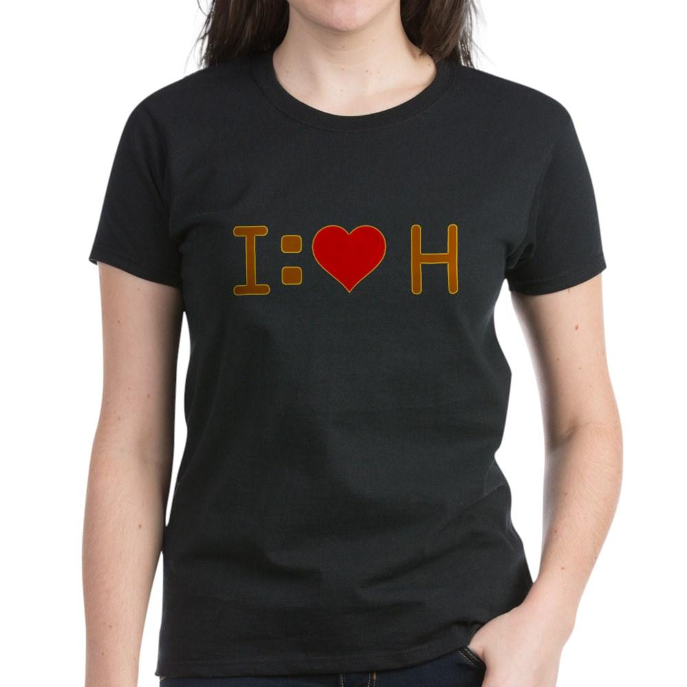I Heart H Women's Dark T-Shirt