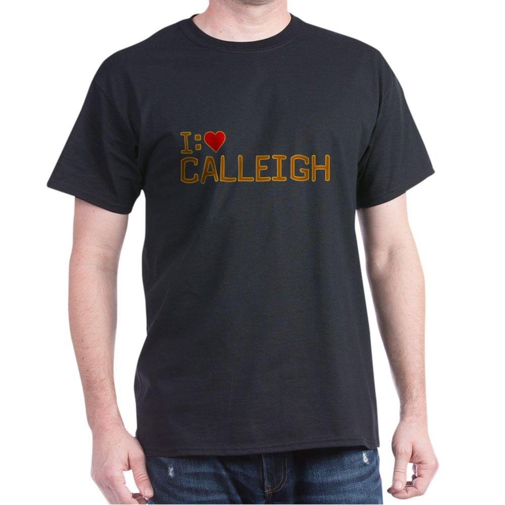 I Heart Calleigh Dark T-Shirt