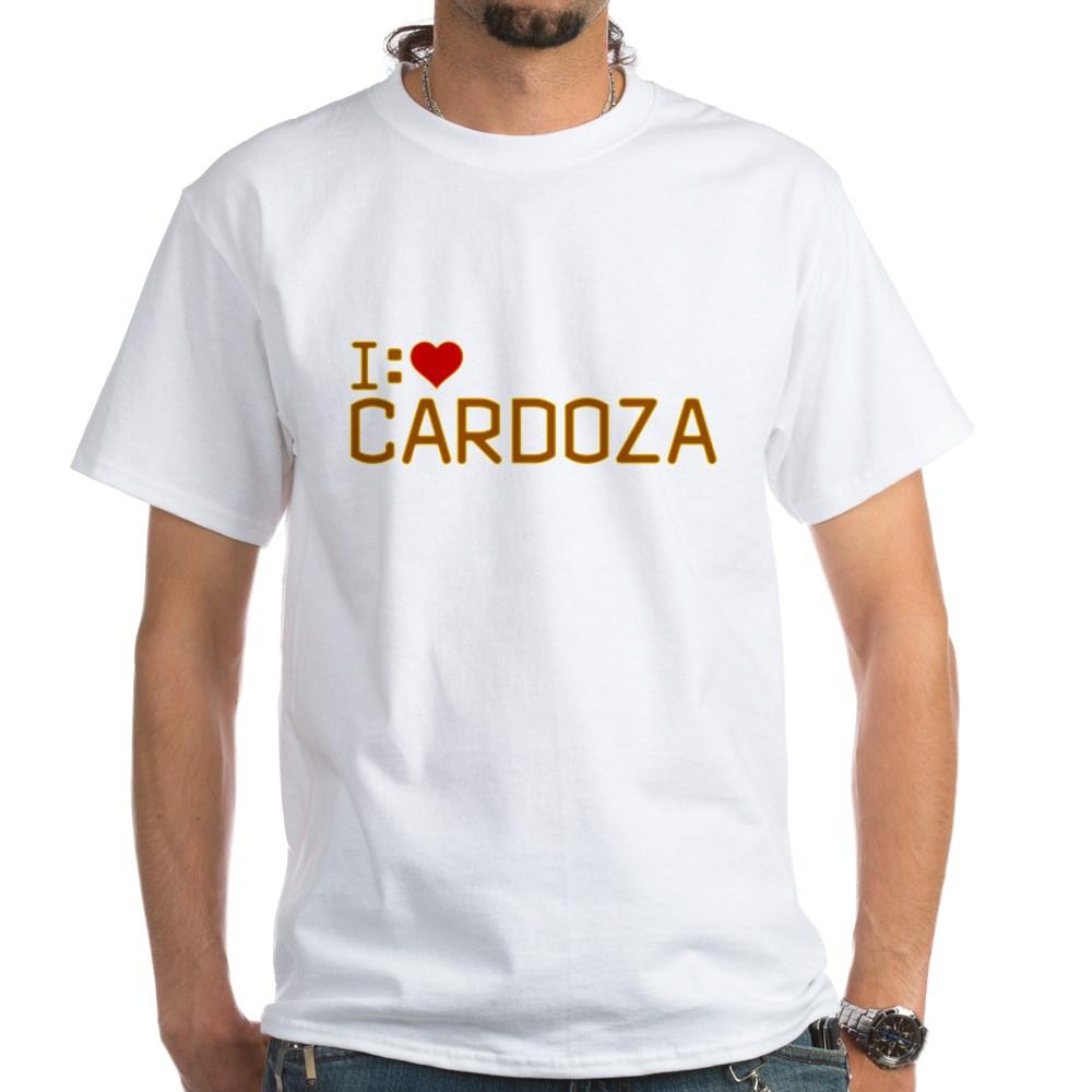 I Heart Cardoza White T-Shirt