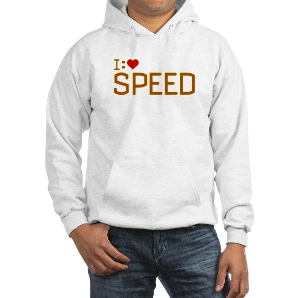 I Heart Speed Hooded Sweatshirt