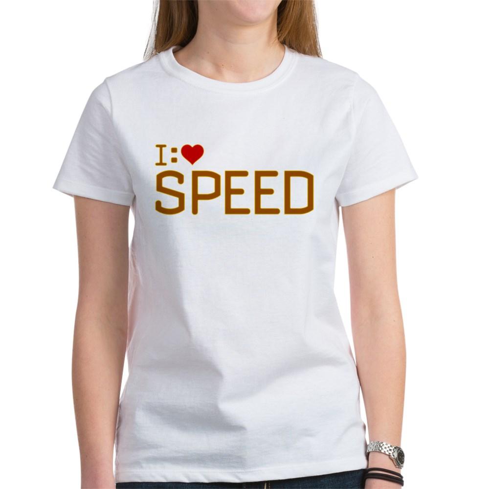 I Heart Speed Women's T-Shirt