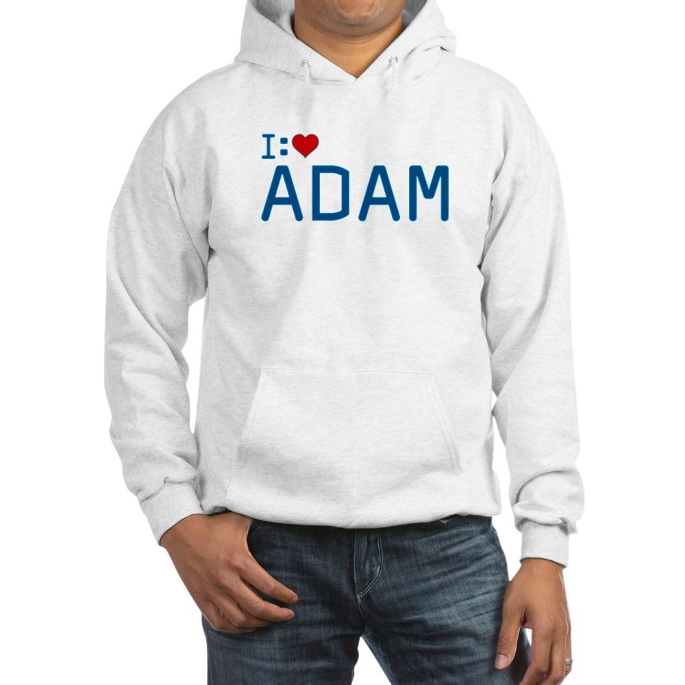 I Heart Adam Hooded Sweatshirt