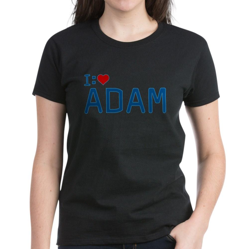 I Heart Adam Women's Dark T-Shirt