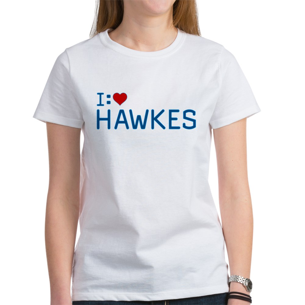 I Heart Hawkes Women's T-Shirt