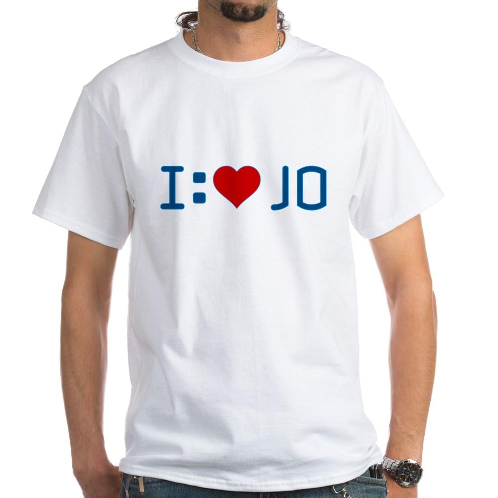 I Heart Jo White T-Shirt