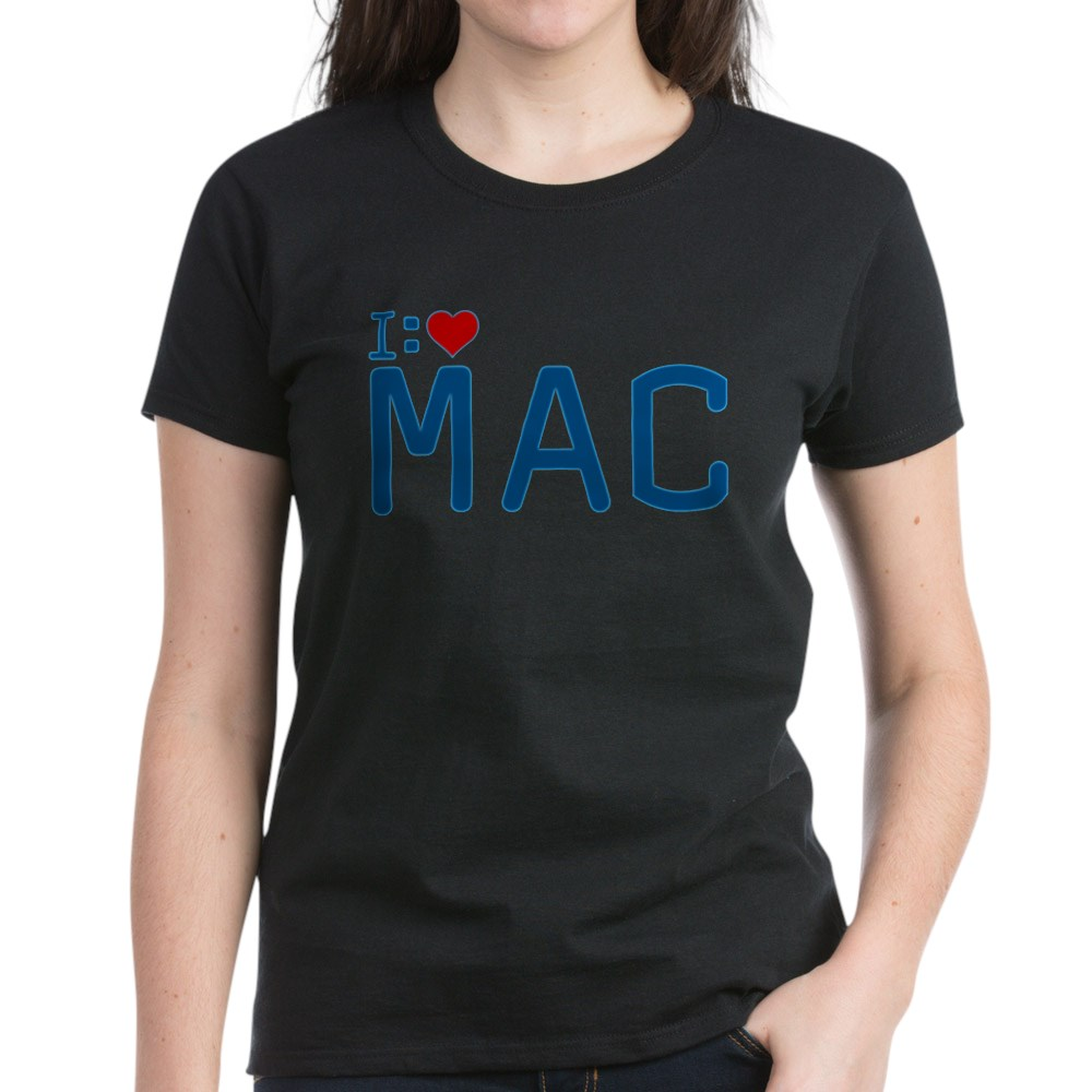 I Heart Mac Women's Dark T-Shirt