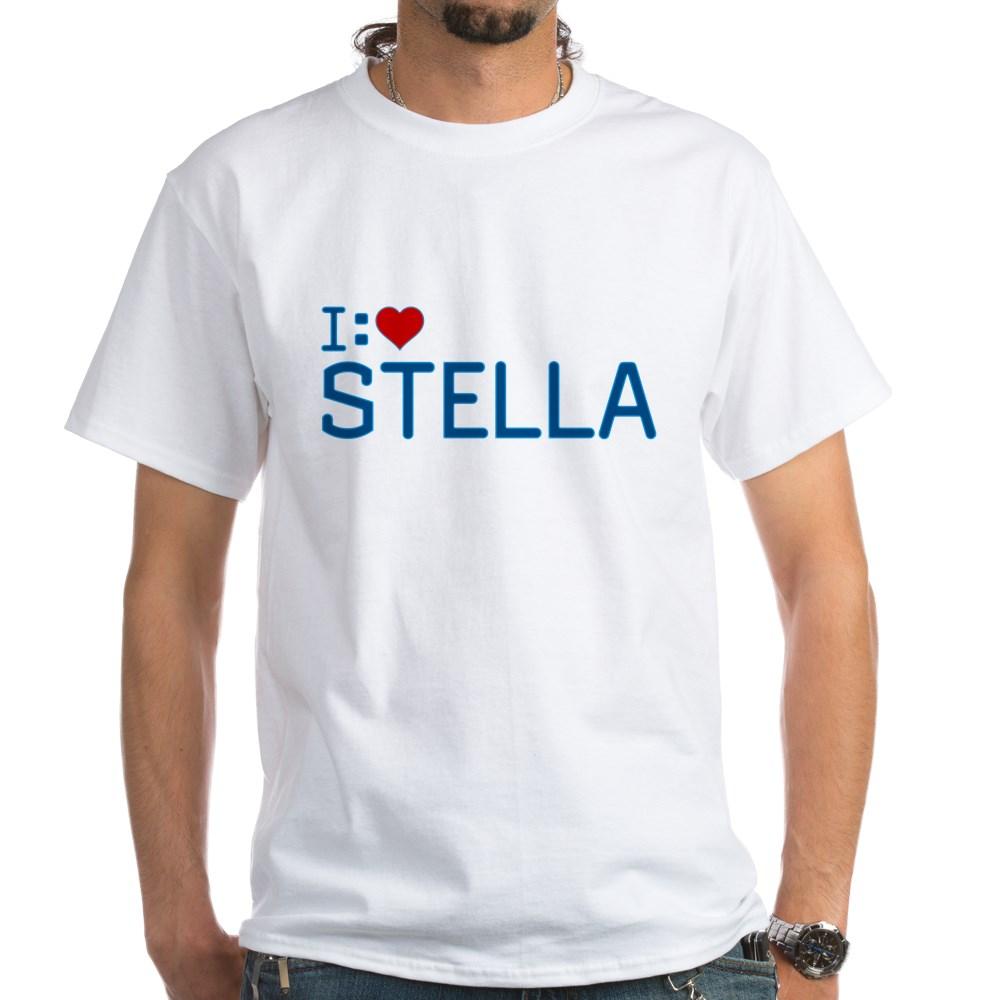I Heart Stella White T-Shirt