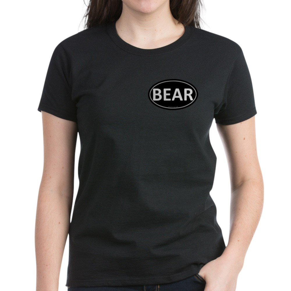 BEAR Black Euro Oval Women's Dark T-Shirt